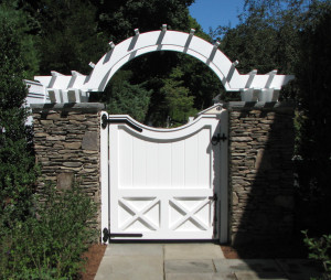 345942 - New Canaan CT - Custom Gate & Arbor-X3